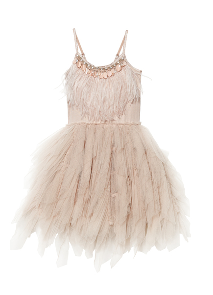 SWAN QUEEN TUTU DRESS - NUDE