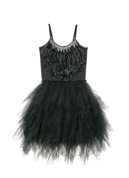 SWAN QUEEN TUTU DRESS - BLACK