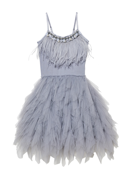 SWAN QUEEN TUTU DRESS - STORM CLOUD
