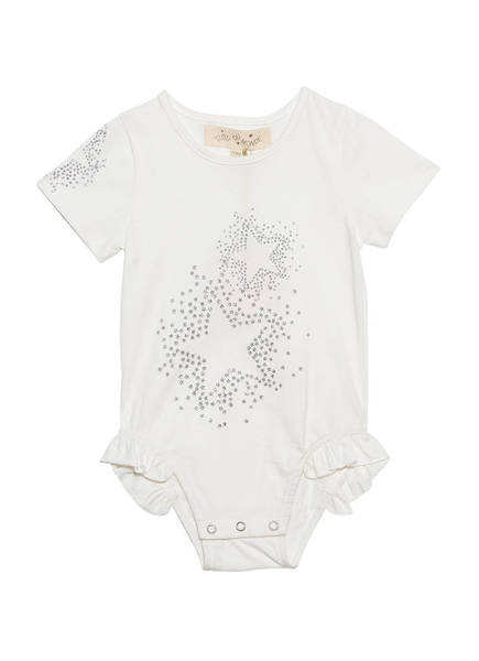 BÉBÉ - SMALL TALK ONESIE - MILK