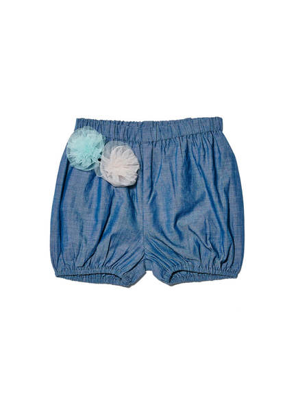 BÉBÉ - EDIE SHORTS - CHAMBRAY
