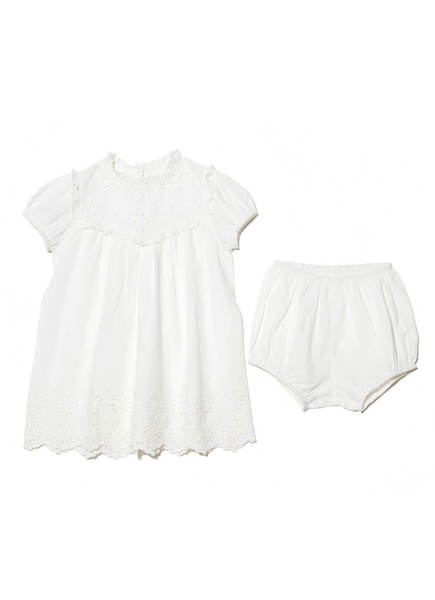 BÉBÉ - CLEMENTINE DRESS - MILK