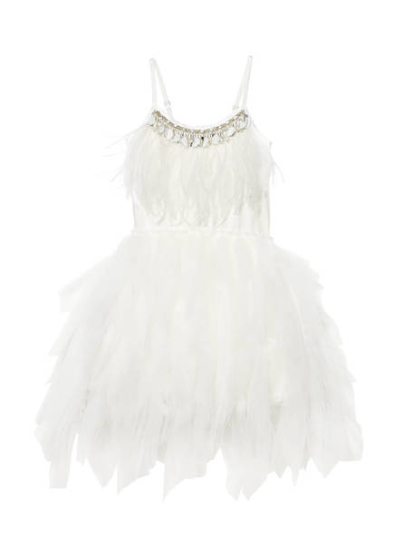 SWAN QUEEN TUTU DRESS - MILK