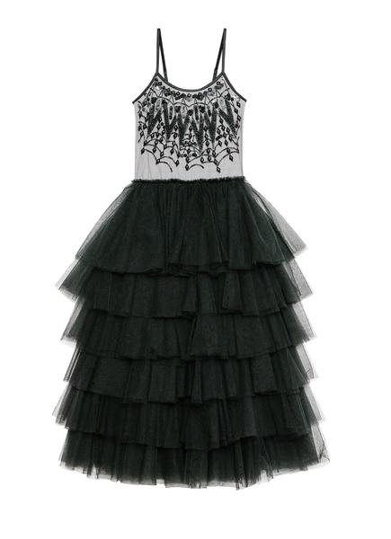 POSSESSED LONG TUTU DRESS - BLACK