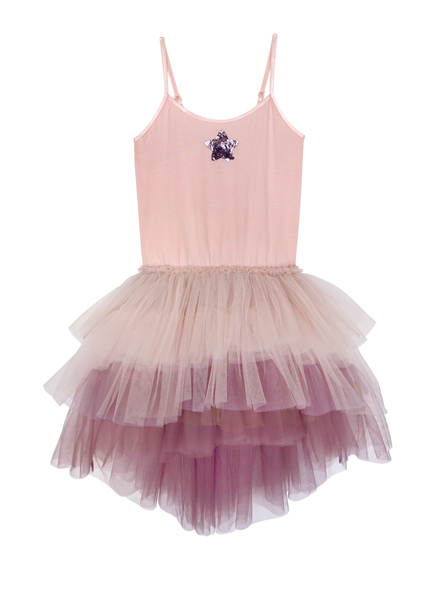 OVER THE RAINBOW TUTU DRESS - ORCHID