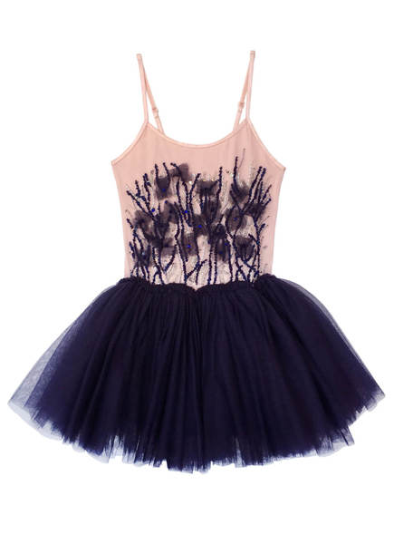 DUSKY DELIGHT TUTU DRESS - MIDNIGHT