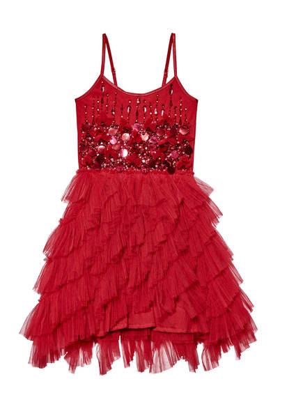BLOOMING ROSE TUTU DRESS - HOLLY