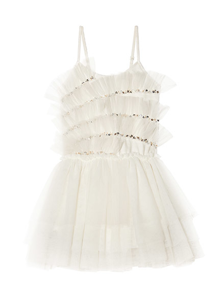 MILKY WAY TUTU DRESS - MILK