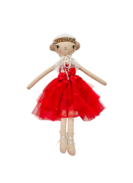 THESE LITTLE TREASURES X TUTU DU MONDE DOLL - CHLOE SCARLET