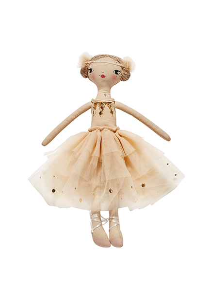THESE LITTLE TREASURES X TUTU DU MONDE DOLL - CHLOE BISCOTTIE