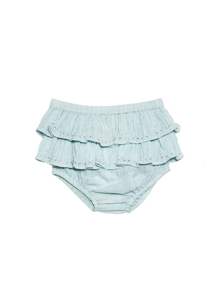 BÉBÉ - FILIGREE SHORTS - AQUA GLAZE