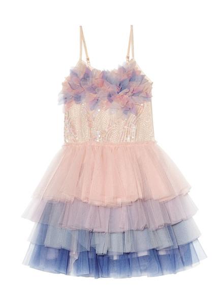 PASSIONFLOWER TUTU DRESS - LYCHEE