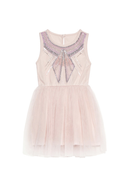 BÉBÉ - LITTLE MISS VIOLETTE TUTU DRESS - LYCHEE