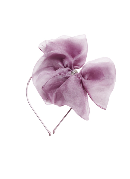 ALICE BOW HEADBAND - BUBBLEGUM