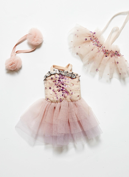 BISOUS DOLLS OUTFIT - MARSHMALLOW
