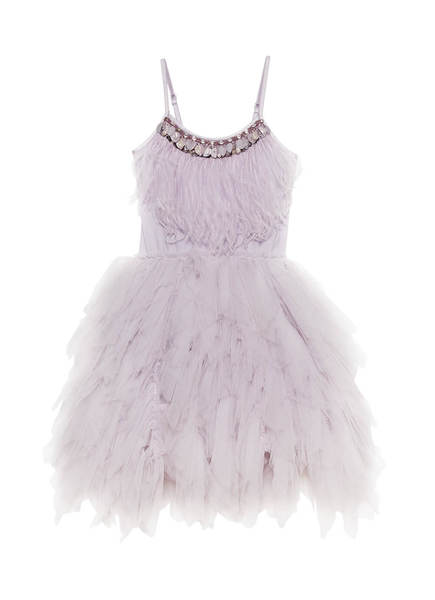 SWAN QUEEN TUTU DRESS - ELDERBERRY