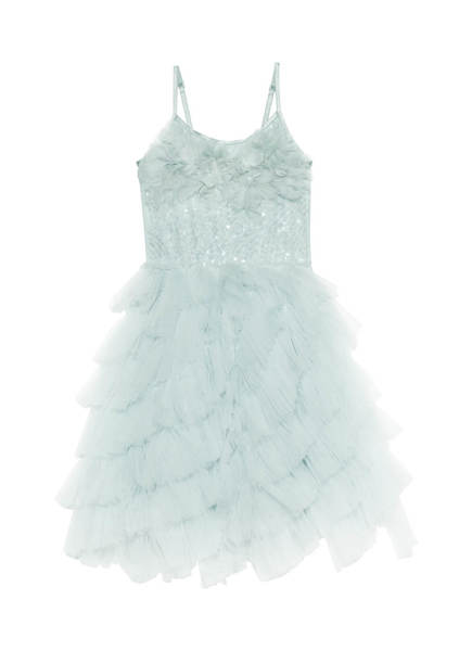 JARDIN TUTU DRESS - AQUA GLAZE