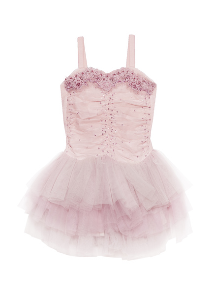 BISOUS TUTU DRESS - MARSHMALLOW