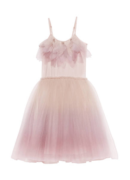MYSTERIOUS WINGS TUTU DRESS - BUBBLEGUM