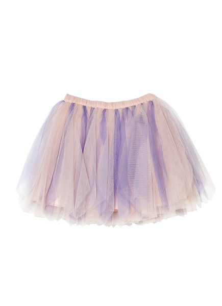 MERRY-GO-ROUND TUTU SKIRT - PURPLE VELVET