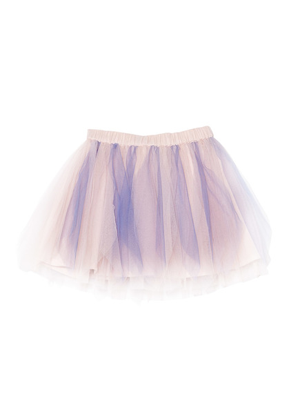BÉBÉ - MERRY-GO-ROUND TUTU SKIRT - PURPLE VELVET