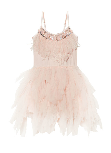 SWAN QUEEN TUTU DRESS - TEA ROSE