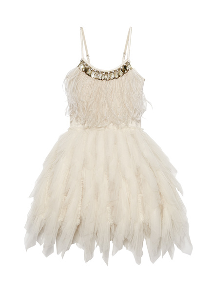 SWAN QUEEN TUTU DRESS - LATTE