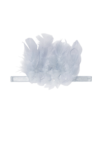 FEATHERED THORNS HEADBAND - HAZE
