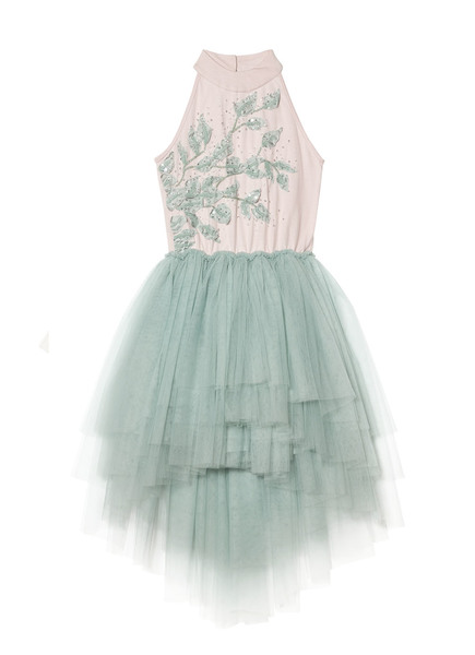 ENCHANTED GODDESS TUTU DRESS - TEA ROSE