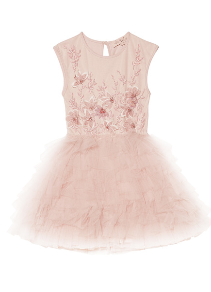 ENCHANTING FABLE TUTU DRESS - TEA ROSE