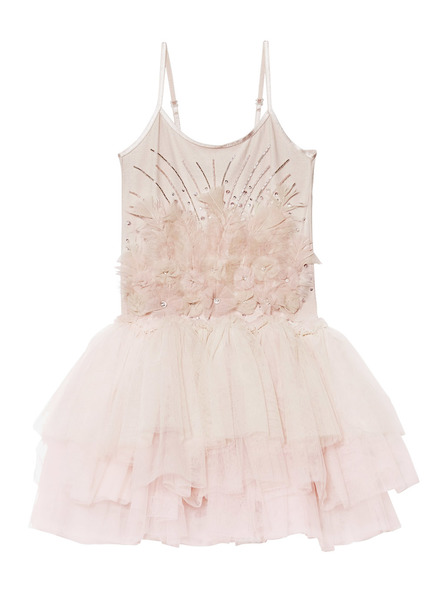 THORNS KISS TUTU DRESS - TEA ROSE