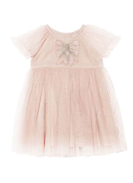 BÉBÉ - LIV TUTU DRESS - TEA ROSE