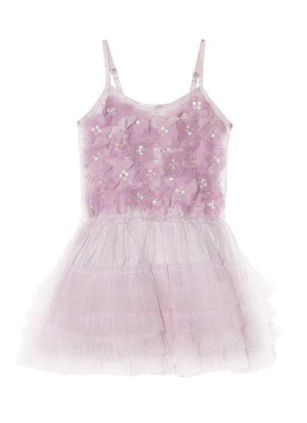 BÉBÉ - ELFIE TUTU DRESS - VIOLET VEIL
