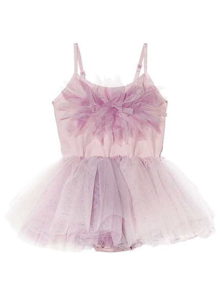 BÉBÉ - PASSION PETAL TUTU DRESS - STRAWBERRY MOUSSE