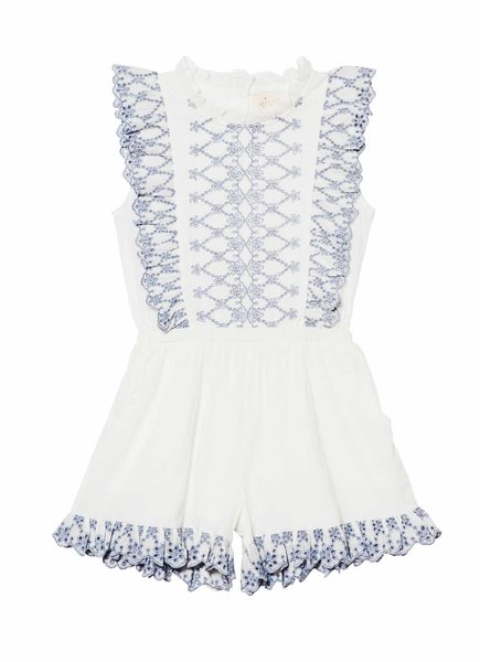 SWEET NETTLE PLAYSUIT - MILK