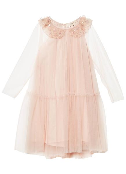 MAGIC MIRROR DRESS - TEA ROSE