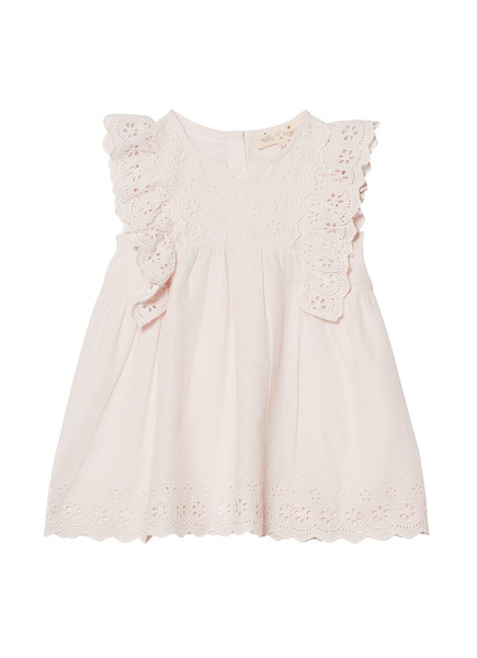 BÉBÉ - HEIDI DRESS - TEA ROSE