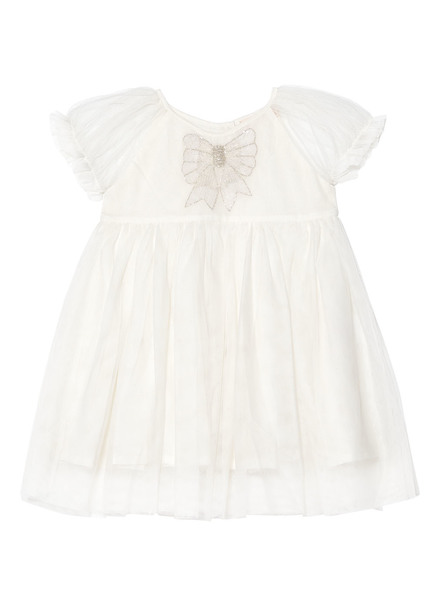 BÉBÉ - LIV TUTU DRESS - MILK