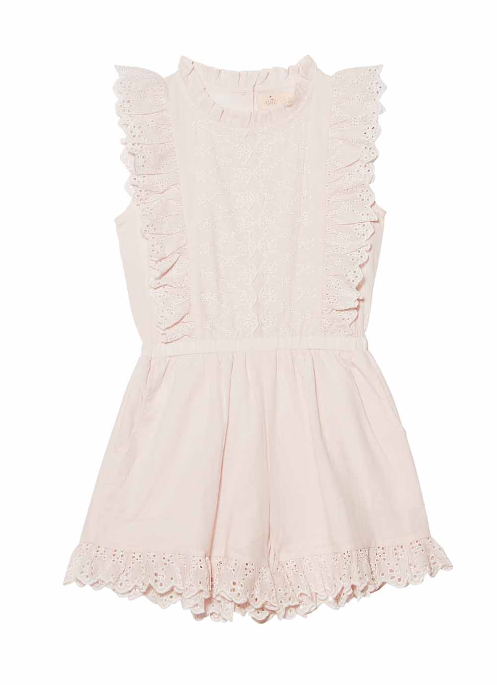 6f2f2bd0f12 SWEET NETTLE PLAYSUIT - TEA ROSE - Welcome to the World of Tutudumonde