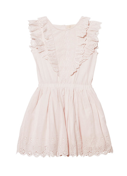 SWEET NETTLE DRESS - TEA ROSE