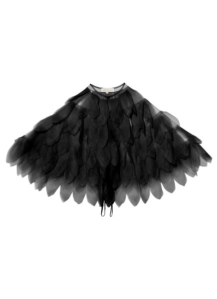TAKE FLIGHT CAPE - BLACK