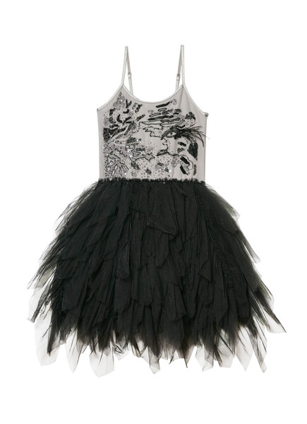 SMOKE AND MIRRORS TUTU DRESS - SILVERLINING