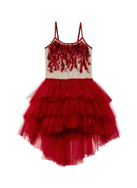 SCARLET SUPERSTITION TUTU DRESS - SCARLET