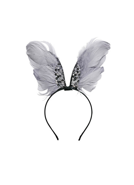 RAVEN WINGED HEADBAND - SILVERLINING