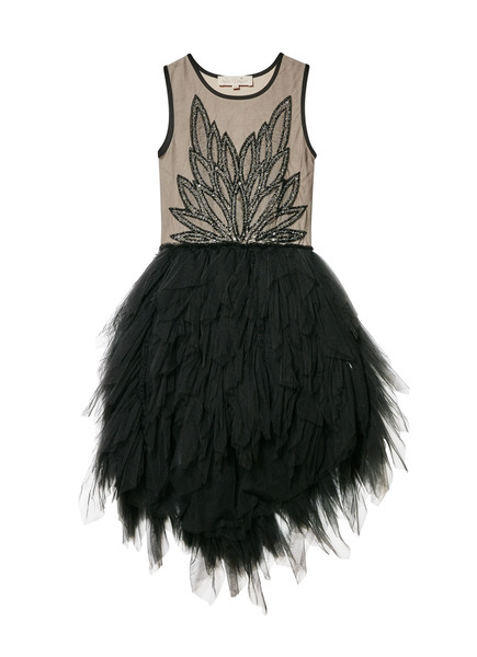 SPINNING WINGS TUTU DRESS - HAZELNUT