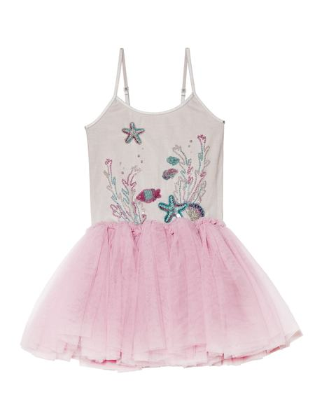 ROYAL REEF TUTU DRESS - BUBBLEGUM
