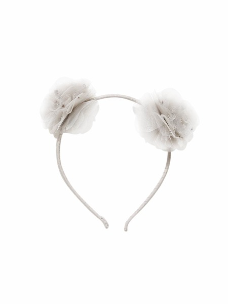 SEA BLOOM HEADBAND - SILVER