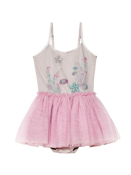BÉBÉ - TREASURE COVE TUTU DRESS - BUBBLEGUM