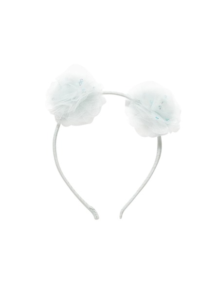 SEA BLOOM HEADBAND - AQUA GLAZE