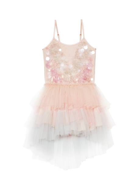 PEARLESCENT DREAMS TUTU DRESS - TEA ROSE